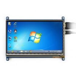 نمایشگر 7 اینچ با تاچ خازنی LCD 7 inch 1024*600 + USB Capacitive touch