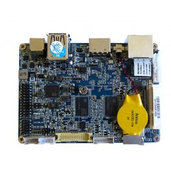 مادربرد صنعتی کویر کامپیوتر   CPU Z8300 با دو گیگ رم/32 گیگ emmc داخلی/lvds/pcie