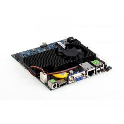 مادربرد فن دار 1037u ابعاد کوچک و قابلیت نصب ویندوز XP مدل kc5002