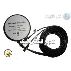 GPS+GSM Antenna Combo Antenna آنتن کمبو/ طول سیم 3متری