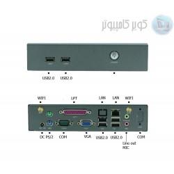 مینی باکس صنعتی 4  هسته ای با CPU J1900 و LPTدار مدل kc5312 -کویرکامپیوتر