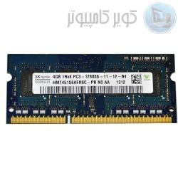 RAM رم -DDR3 1600 4G  رودستگاهی به همراه گارانتی یکساله- کویرکامپیوتر