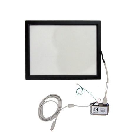 تاچ مقاومتی 5سیمه  15.0 اینچ صنعتی با فریم و برد رابط- کویرالکترونیک