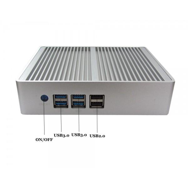 مینی باکس  صنعتی حرفه ای CORE I7- 5500U ساپورت مستقیم هاردلپتاپی  هارد ssd مدل KC5006  کویرکامپیوتر