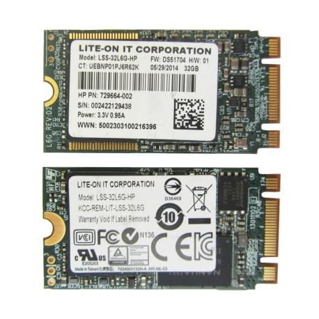 32G M.2 SSD سرعت بالا LITE-ON IT Corporation
