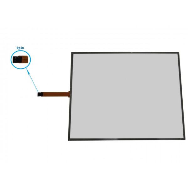 تاچ مقاومتی 15.0 اینچ/ 4 پین touch screen - کویرکامپیوتر