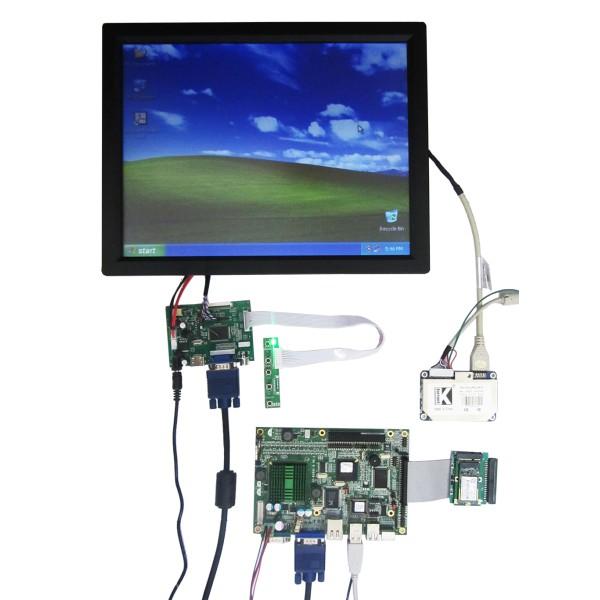 پکیج کامل مادربرد والسیدی و تاچ صنعتی 15.0 اینچ (فول پکیج)- کویرکامپیوتر