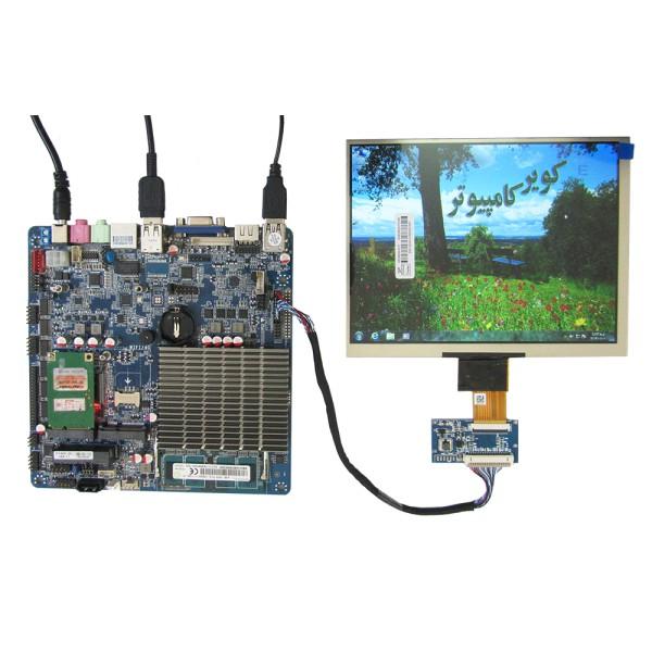 السیدی 8.0 اینچ اورجینال 40 پین 768*1024 lvds کویر کامپیوتر