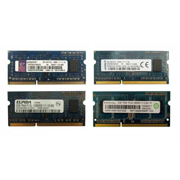 رم 2 گیگ کاملا نو و بدون پک RAM DDR3L 2G