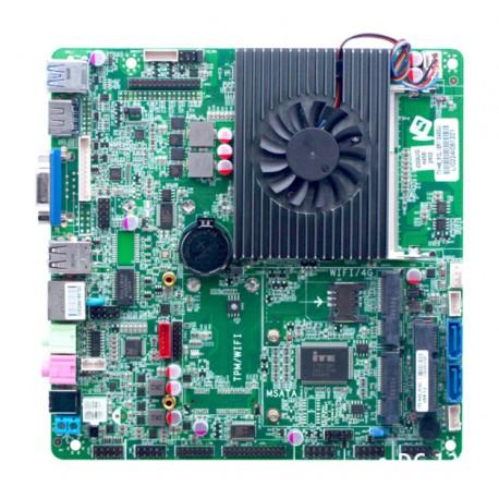 مادربردصنعتی core i5 -4278u با فن/ 2 پورت سریال / مدل KC5603- کویرکامپیوتر