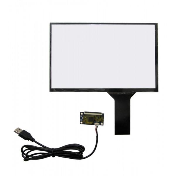تاچ خازنی 10.1 اینچ کیفیت بالا قابلیت کار در تمامی سیستم عامل ها touch 10.1inch