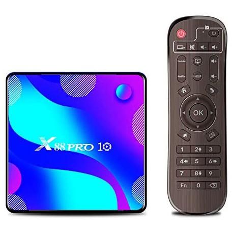 اندروید باکس X88 Pro 10 با RK3318 و حافظه داخلی 64 و رم 4 - کویر کامپیوتر