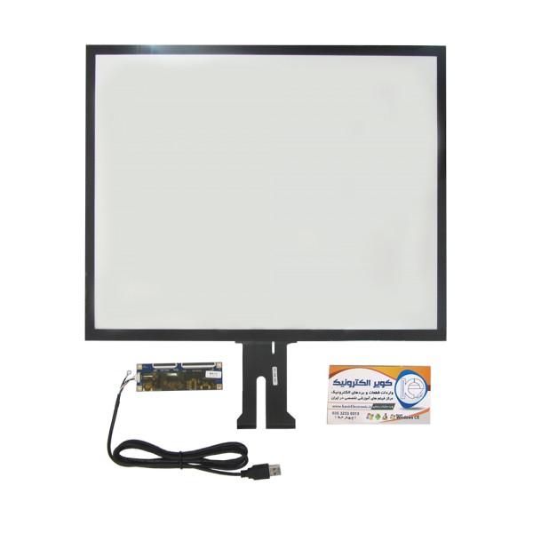 تاچ خازنی 19.0 اینچ کیفیت بالا قابلیت کار در تمامی سیستم عامل ها touch 19 inch - کویر کامپیوتر