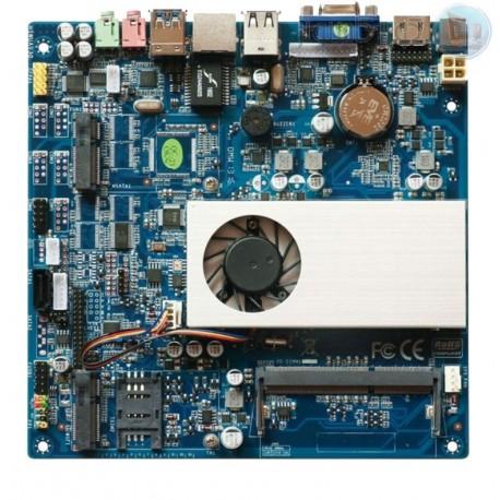 مادربرد صنعتی فن دار itx با core i5-4200با محصول کویر کامپیوتر
