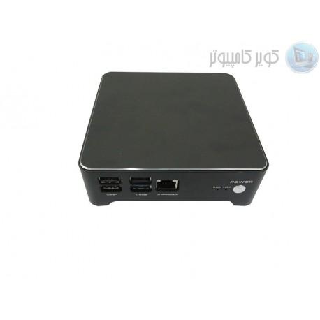 باکس با دو پورت لن و 1 پورت سریال CPU j1900   مدل KC5507 کویرکامپیوتر
