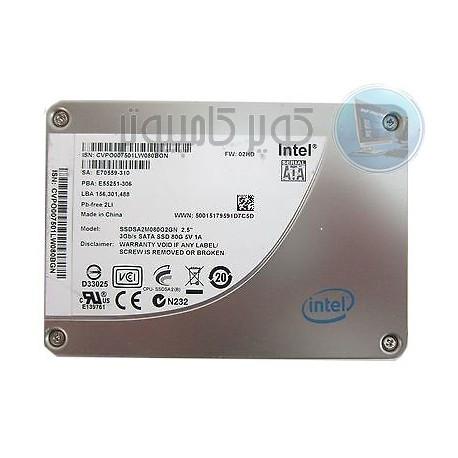 هارد اینتل 80G SSDبا کیفیت عالی- کویرکامپیوتر