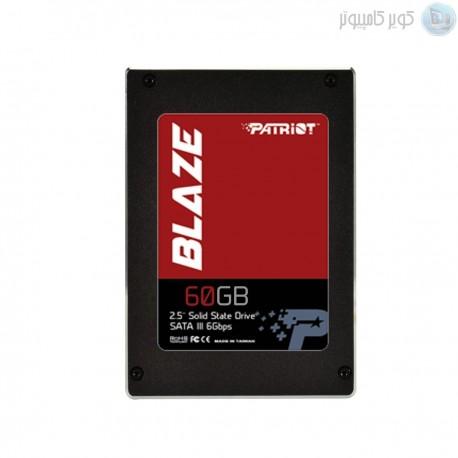 """هارد لپتاپی 60 گیگPatriot Blaze 2.5"""" 60GB SATA III  (SSD) - کویرکامپیوتر"""